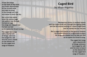 Caged Bird Poem