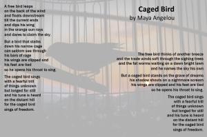 Caged Bird Poem